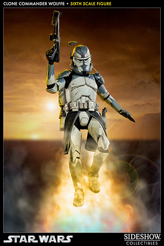 Star Wars - Clone Commander Wolffe