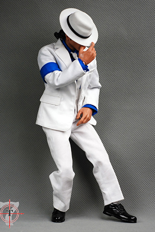 Set Michael Jackson Smooth Criminal (Blanc)