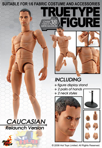 True Type Figure - Caucasian Relaunch Version