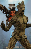 Guardians Of The Galaxy - Rocket & Groot Set