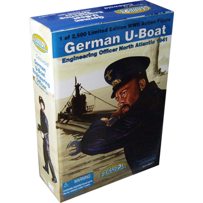 German U-Boat engineering officer