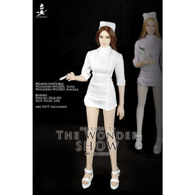Set vêtements The Instinct Nurse Costume (Blanc)
