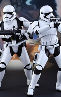 Pack Star Wars : The Force Awakens - First Order Stormtrooper & Heavy Gunner