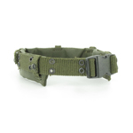 OD  Load Carrying Equipment LCE Equipment Pistol  belt with belt Pad