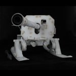 Canon 8,8 cm Raketenwerfer 43 Püppchen