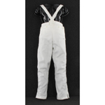 Cloth working trousers with a flap draw fly at the front