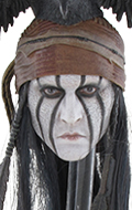 Headsculpt indien (Johnny Depp)