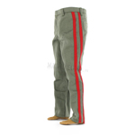 JOSEPH STALINE green russian officer pants with red border