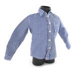 Chemise à carreaux (Bleu)