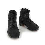 Chaussures en daim (Noir)