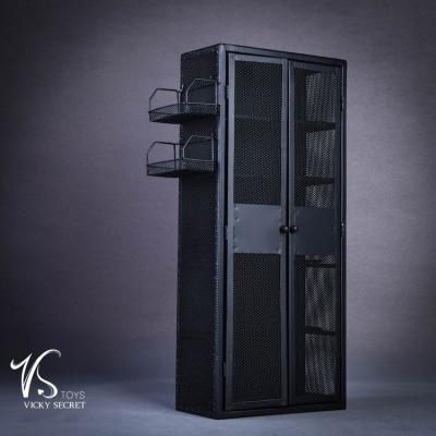 casier en m tal noir machinegun. Black Bedroom Furniture Sets. Home Design Ideas
