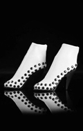 Female High Heels Shoes (White)