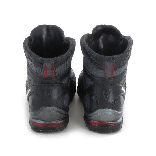 chaussures de marche salomon gris machinegun. Black Bedroom Furniture Sets. Home Design Ideas