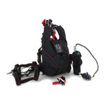 Complete Military Free Fall Parachute (Black)