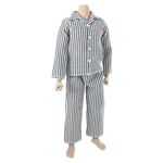 Striped Pajamas (Grey)