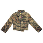 Tan/Water Camo Panzer Jacket