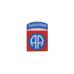 82 nd All American Airbirne Division patch