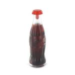 Bouteille de Coca Cola capsule rouge