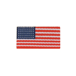 48 stars US flag patch