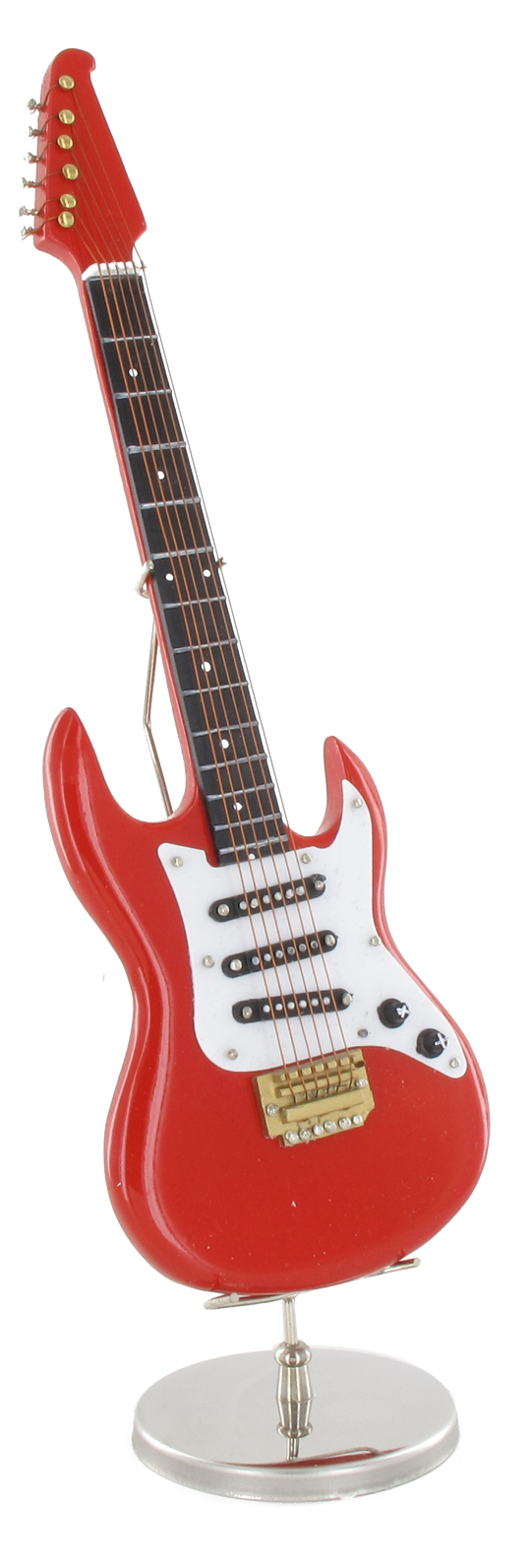 guitare lectrique rouge machinegun. Black Bedroom Furniture Sets. Home Design Ideas