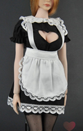 Female Sexy Maid Set (Black)