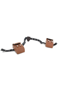 Suspenders with Pouches (Brown)