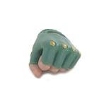 Female Gloved Mittens Left Hand (Green)