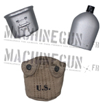 U.S. M1910 Canteen w/Cover and Metal Cup