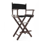 Director's chair in brown color