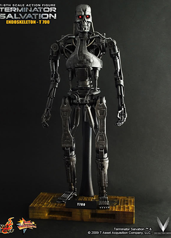 Terminator Salvation - T-700 Endoskeleton