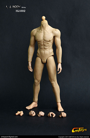 Asian Muscle Body (headless version)