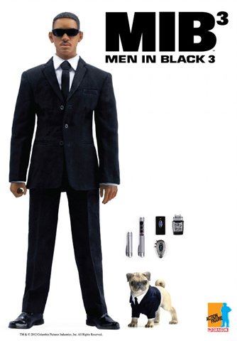 Men in Black 3 - Agent J (Damaged)