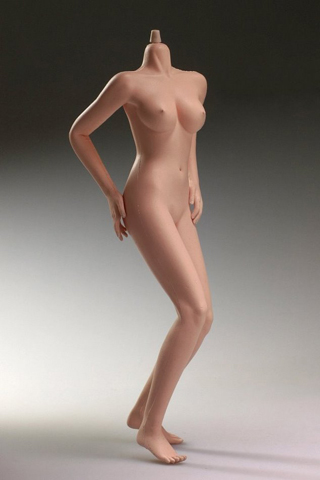 Seamless Hot Stuff Female Body