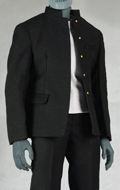 Mens High School Uniform Set (Black)