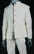 Mens High School Uniform Set (White)