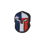 Texas Spartan patch (Red)