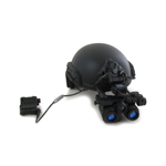 FAST Maritime Ballistic Helmet with AN/PSQ-36 NVG (Black)