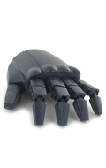 Articulated Robotic Left Hand (Black)