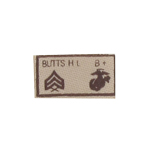 USMC Corporal BUTTS HL Chest Patch