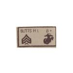 Insigne patronymique basse visibilité  USMC CAPORAL BUTTS HL