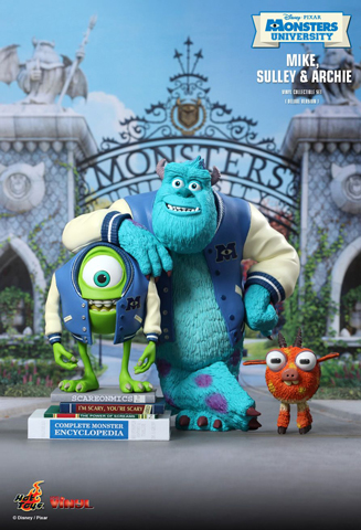 Monsters University - Mike, Sulley & Archie