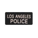 Los Angeles Police Patch (Noir)