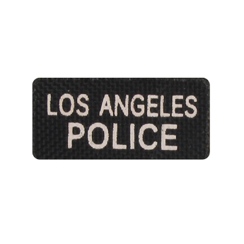Patch Los Angeles Police (Noir)