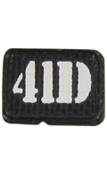 4ID Patch (Black)