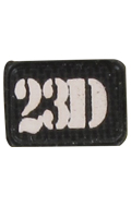 23D Patch (Black)