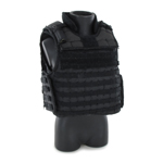 PROTECH TAC-6 PLUS HP Full Coverage tactical vest (Black)