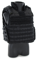 PROTECH TAC-6 PLUS ® HP Full Coverage tactical vest (Black)