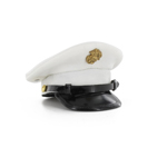 Enlisted Dress white Cover Cap
