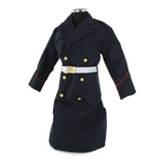 Blue parade overcoat