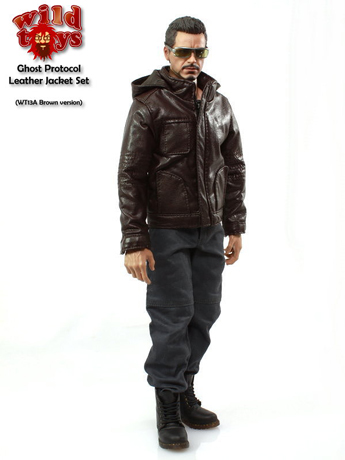 Set Ghost Protocol Homme (Marron)